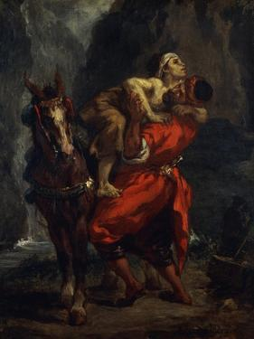 The Good Samaritan by Eugene Delacroix