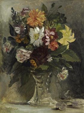 Vase of Flowers, 1833 by Eugene Delacroix