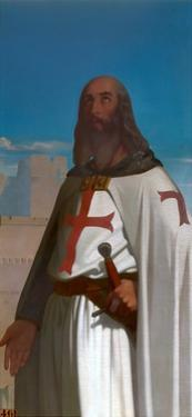 Jacques De Molay, Grand Master of the Knights Templar by Eugène Emmanuel Amaury-Duval