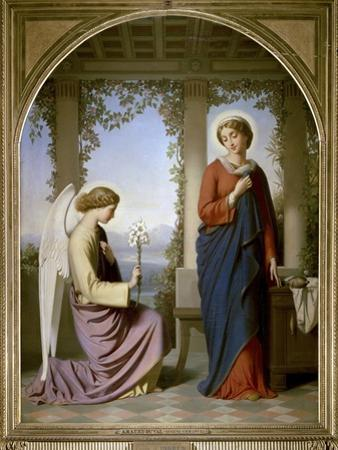 The Annunciation by Eugene Emmanuel Amaury-Duval