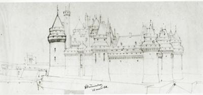 Château De Pierrefonds, 1866