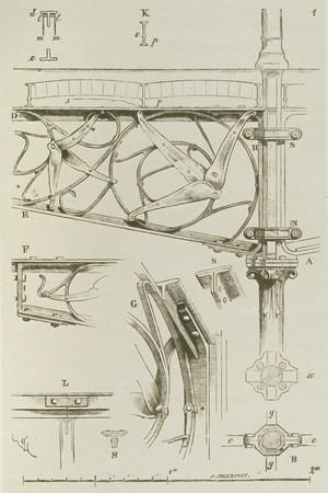 Drawing from the 13th 'Entretiens Sur L'Architecture', 1872