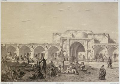 Caravanserai on the road from Isfahan to Shiraz