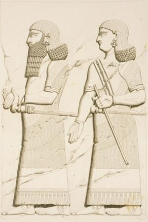 Relief Depicting a Man and a Woman