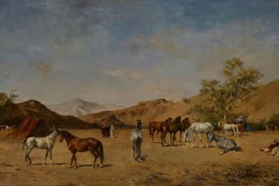 An Arabian Camp, 1873