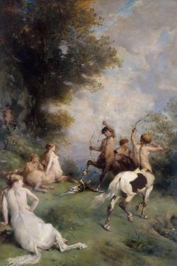 Centaures by Eugène Fromentin