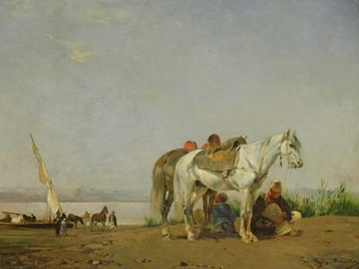 On the Bank of the Nile, 1871