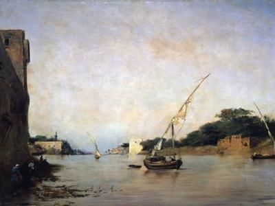 View of the Nile, 19th Century