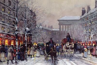 A Parisian Winter Scene