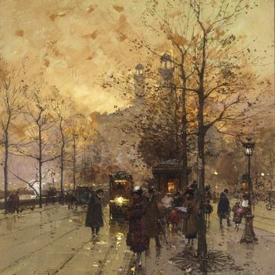 Figures on a Parisian Street