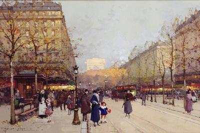 Les Champs Elysees, Paris