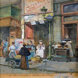 The Snail Seller by Eugene Galien-Laloue