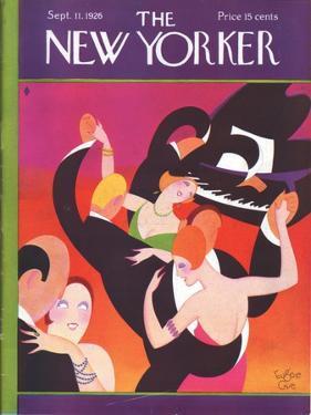 The New Yorker Cover - September 11, 1926 by Eugene Gise