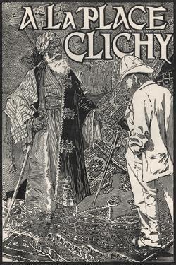 A La Place Clichy Poster by Eugene Grasset