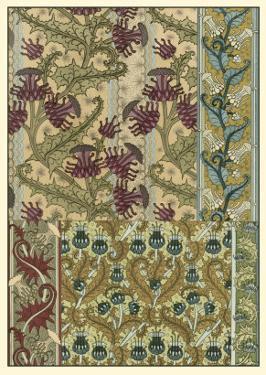 Garden Tapestry IV by Eugene Grasset
