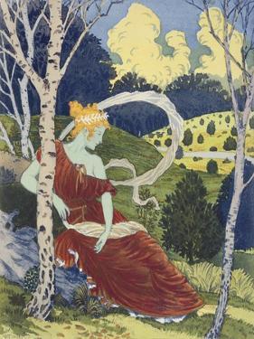 In the Woods, from 'L'Estampe Moderne', Published Paris 1897-99 by Eugene Grasset