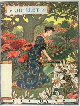 July by Eugene Grasset