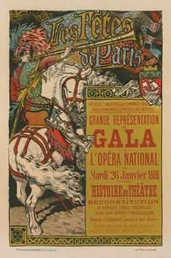 Les Fêtes de Paris - Gala by Eugene Grasset