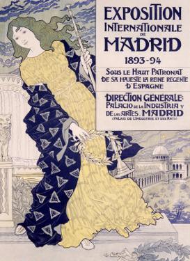 Madrid Expo by Eugene Grasset
