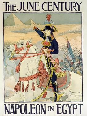 Poster for the Century Magazine - 'Napoleon in Egypt', 1895 by Eugene Grasset
