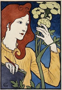 Salon des Cent, Exposition E Grasset by Eugene Grasset