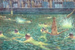 Badsump, 1911 by Eugene Jansson