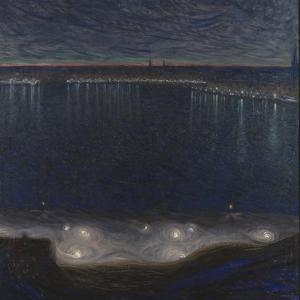 Riddarfjärden, Stockholm by Eugène Jansson