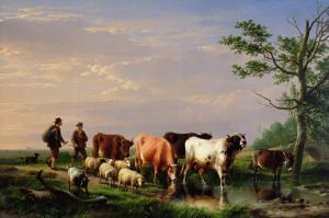 Homeward Bound by Eugene Joseph Verboeckhoven
