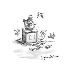New Yorker Cartoon by Eugène Mihaesco