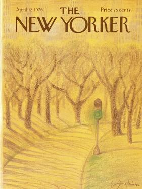 The New Yorker Cover - April 12, 1976 by Eugène Mihaesco
