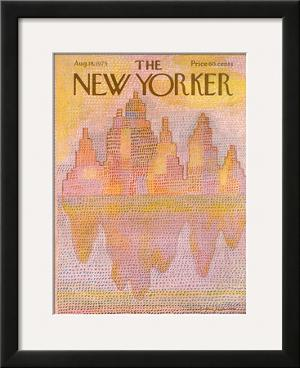 The New Yorker Cover - August 18, 1975 by Eugène Mihaesco