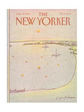 The New Yorker Cover - August 30, 1982 by Eugène Mihaesco