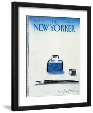 The New Yorker Cover - January 25, 1988 by Eugène Mihaesco