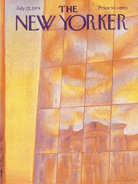 The New Yorker Cover - July 22, 1974 by Eugène Mihaesco