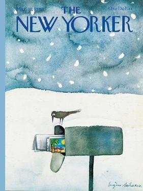 The New Yorker Cover - March 10, 1980 by Eugène Mihaesco