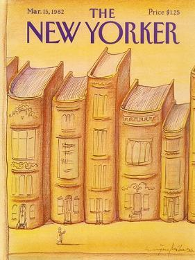 The New Yorker Cover - March 15, 1982 by Eugène Mihaesco