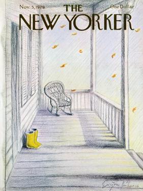 The New Yorker Cover - November 5, 1979 by Eugène Mihaesco