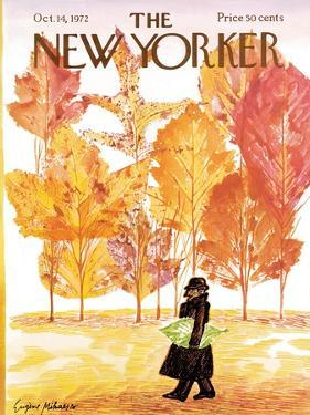 The New Yorker Cover - October 14, 1972 by Eugène Mihaesco