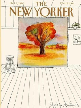 The New Yorker Cover - October 6, 1980 by Eugène Mihaesco