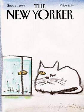 The New Yorker Cover - September 11, 1989 by Eugène Mihaesco