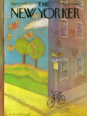 The New Yorker Cover - September 27, 1976 by Eugène Mihaesco
