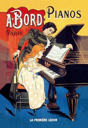 Bord Pianos, The First Lesson