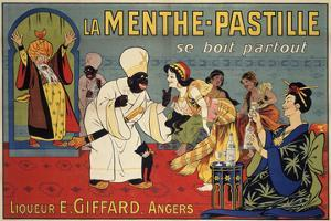 La Menthe-Pastille by Eugene Oge