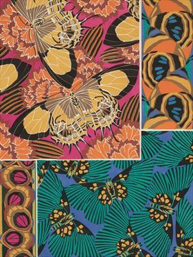 Decorative Butterflies III by Eugene Seguy