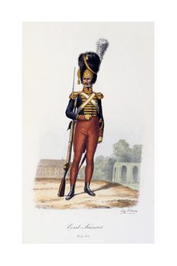 Cent-Suisses, 1814-17 by Eugene Titeux