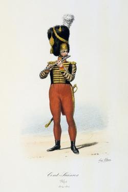 Cents-Suisses, Fifer, 1814-17 by Eugene Titeux