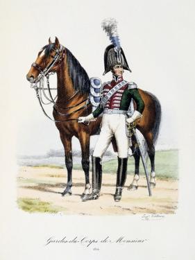Gardes-Du-Corps De Monsieur, 1814 by Eugene Titeux