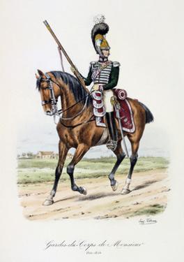 Gardes-Du-Corps De Monsieur, 1820-24 by Eugene Titeux