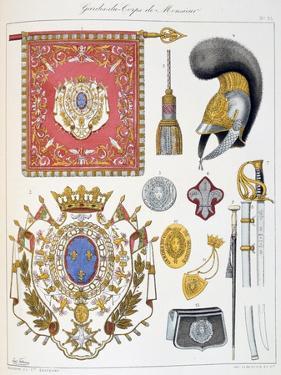 Gardes-Du-Corps De Monsieur, Insignia by Eugene Titeux