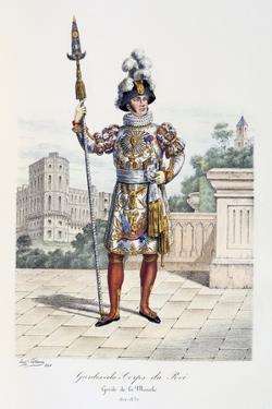 Gardes-Du-Corps De Roi, Garde De La Manche, 1814-30 by Eugene Titeux